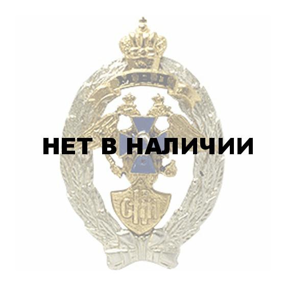 Нагрудный знак МВД Сотрудник криминальной милиции металл
