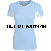 Футболка женская Shape голубая