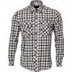 Рубашка Prairie клетка беж