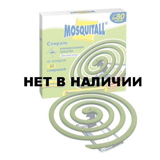 Спирали от комаров Mosquitall Универсальная защита 10шт.