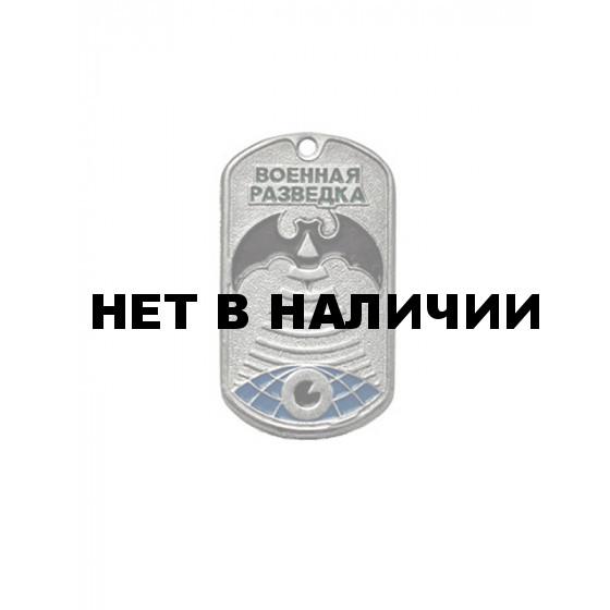 Жетон 7-16 Военная разведка зеленый металл