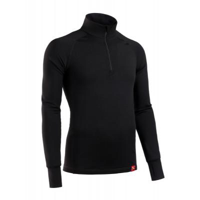 Термобелье куртка мужская BASK MERINO WOOL TECH J черный
