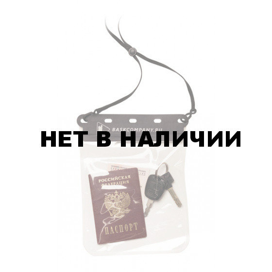Гермоупаковка Баск ГЕРМОКОШЕЛЕК WP POUCH M ПРОЗРАЧНЫЙ