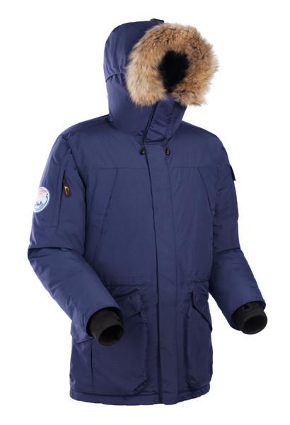 Мужская куртка-аляска Баск ALASKA V2 синяя 499acde190df8