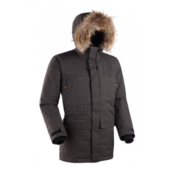 Мужская куртка-парка Баск ARADAN коричневый