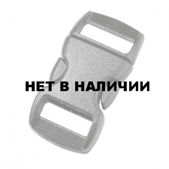 Пряжка фастекс 10 мм 1-17261/1-07262 (2 части) без регулировки черный Duraflex