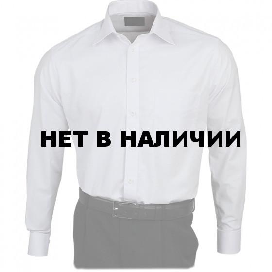 Рубашка Охранник Премиум, длинный рукав, белый