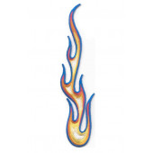 Термонаклейка -0268 Пламя вышивка