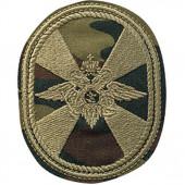 Нашивка на рукав Внутренние Войска овал камуфлированные вышивка