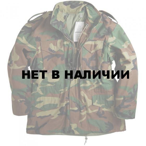 Куртка M-65 Woodland с подстежкой Alpha Industries