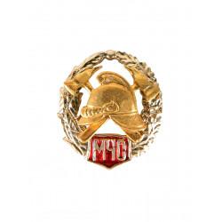 Миниатюрный знак Пожарный МЧС металл