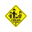 Наклейка CHILD on board сувенирная