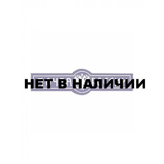 Нашивка на грудь Почта России пластик