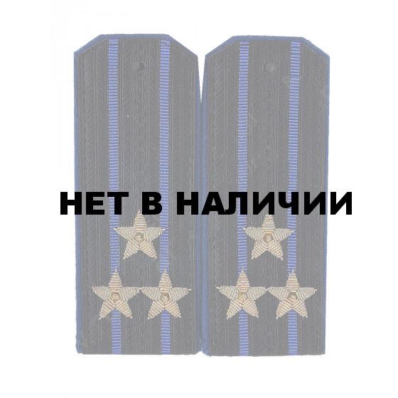 Погоны ФСБ Полковник вышитые золото