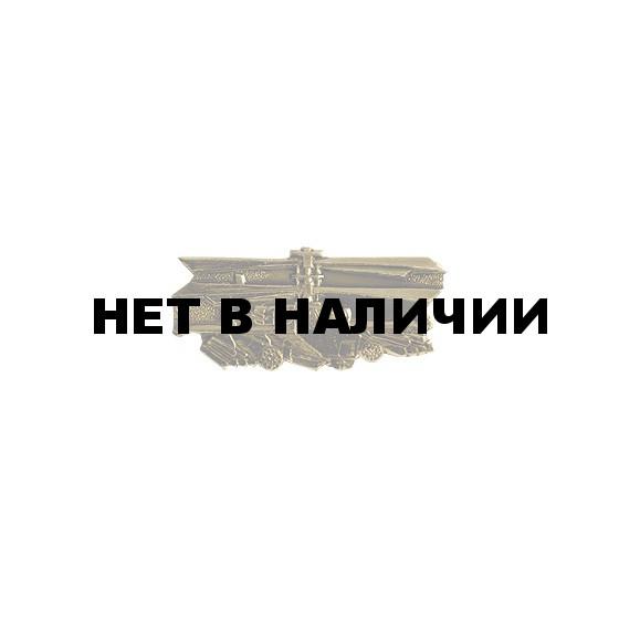 Нагрудный знак Вертолет металл
