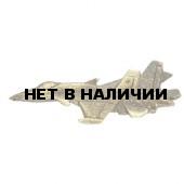 Нагрудный знак Самолет МИГ металл