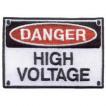 Термонаклейка -0976 Высокое напряжение вышивка