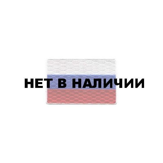 Термонаклейка -0459.2 Флаг России малый вышивка