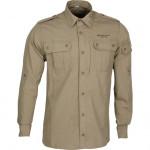 Рубашка Division бежевый