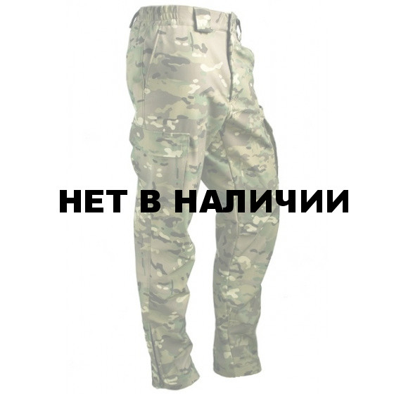 Брюки МПА-28 (ткань Софтшелл), камуфляж мультикам