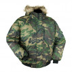 Куртка Аляска укороченная лес твил