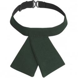 Галстук женский зеленый
