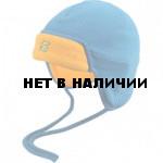 Шапочка Snow синий/желтый