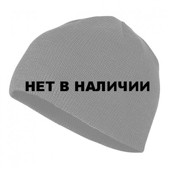 Шапка полушерстяная черная мод. 3