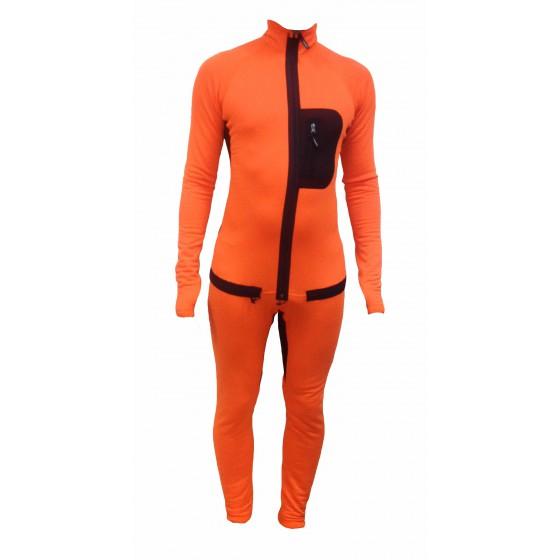 Комбинезон Active Polartec Thermal Grid оранжевый