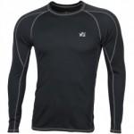 Термобелье футболка L/S Dynamic черная
