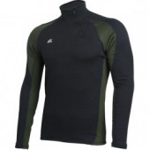 Термобелье футболка L/S Active Polartec Thermal Grid черный/alpine