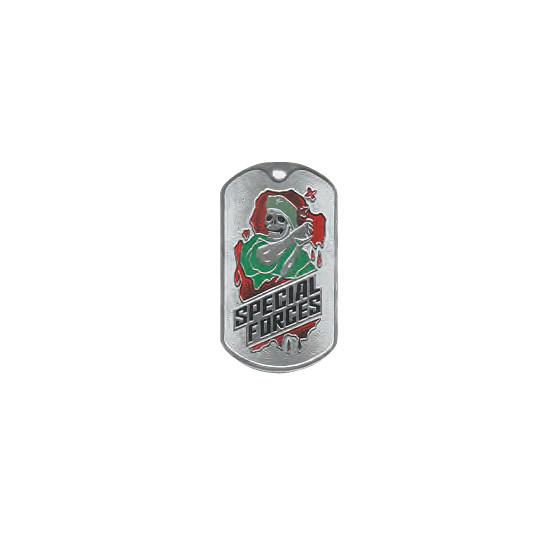 Жетон 2-9 SPECIAL FORCES оливковый берет металл