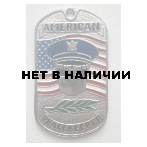 Жетон 1-13 AMERICAN PEACEKEEPER металл