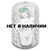 Жетон 10-14 Мой защитник зеленая фуражка металл