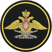 Нашивка на рукав ВС РФ ГРАУ тканая