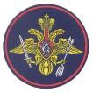 Нашивка на рукав ВС РФ РВСН тканая