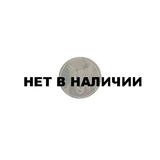 Нашивка на рукав ВС РФ ГК ВВС камуфлированная вышивка шелк