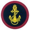 Нашивка на рукав Морская пехота пластик