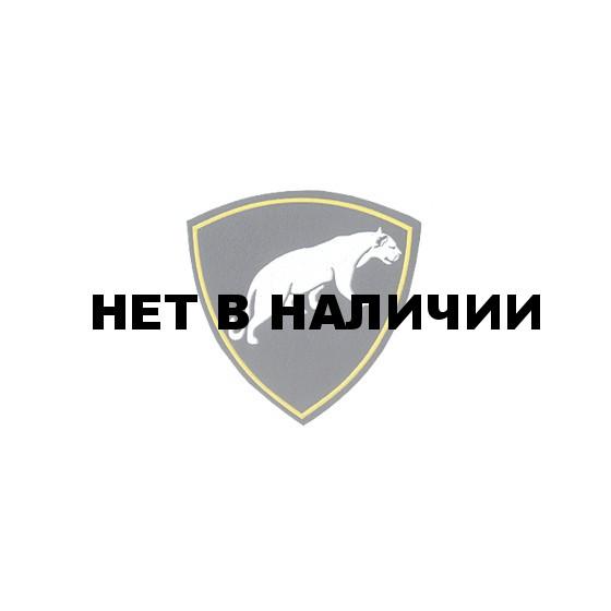Нашивка на рукав Отдельная дивизия оперативного назначения ВВ Пантера вышивка люрекс