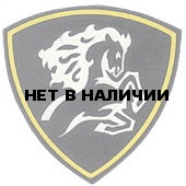 Нашивка на рукав Северо-Кавказский округ ВВ Конь вышивка люрекс