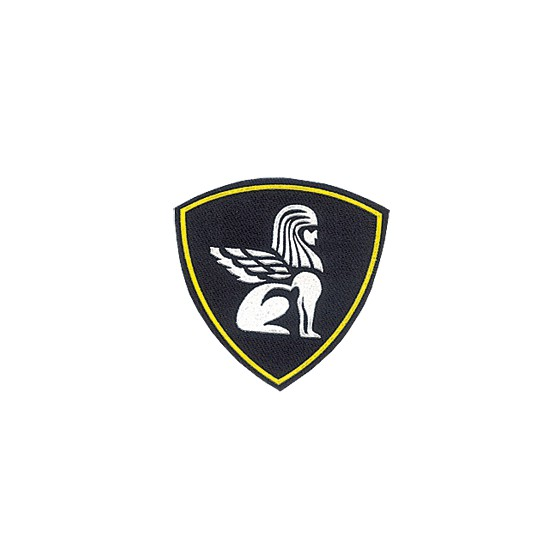 Нашивка на рукав Северо-Западный округ ВВ Сфинкс вышивка люрекс