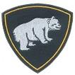 Нашивка на рукав Сибирский округ ВВ Медведь пластик