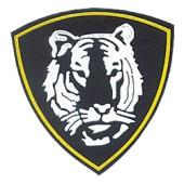 Нашивка на рукав Восточный округ ВВ Тигр вышивка люрекс