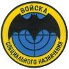 Нашивка на рукав Войска специального назначения пластик