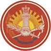 Нашивка на рукав ВС РФ Военный университет пластик