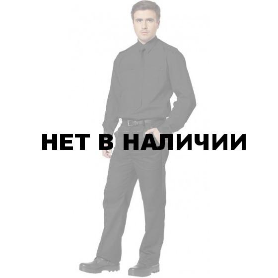 Рубашка Охранника в запр. чер. с длинным рукавом, Панацея