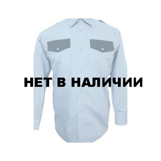 Рубашка Охранника в запр. с/г, длинный рукав, б/о