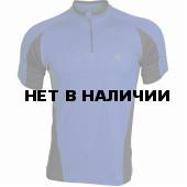 Поло Action Dry синий/серый