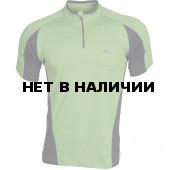 Поло Action Dry зеленый/серый