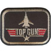 Термонаклейка -0339 TopGun вышивка